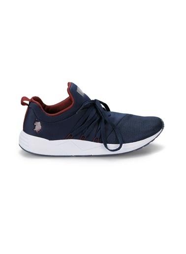 U.S. Polo Assn. U.S. Polo Assn. Tork Erkek Sneaker Lacivert